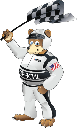 NASCAR Foundation Bear