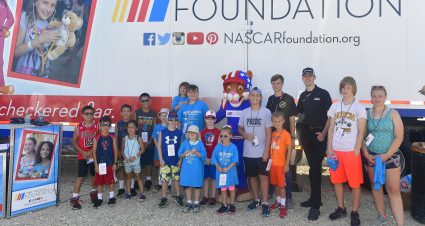 The NASCAR Foundation, Chicagoland Speedway, Mobile Care Chicago  Partner for Youth Health Festival