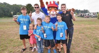 Kids, young NASCAR drivers meet — and compete — at Michigan