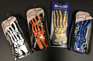 Dale Jr Driven to Give Gloves