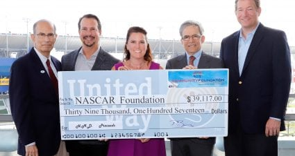 NASCAR Foundation receives gift of $39K from Community Foundation