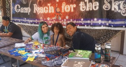 The Seany Foundation helps more kids at Camp Reach for the Sky