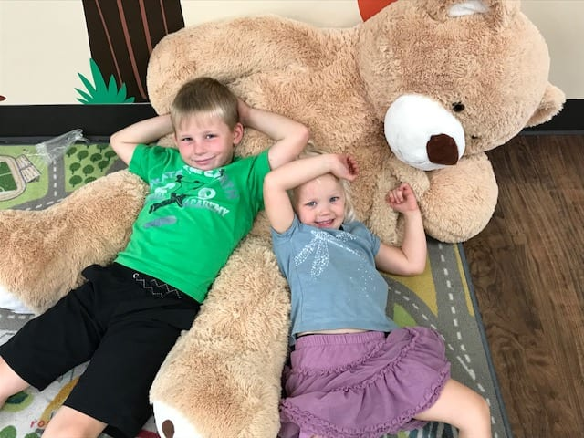 Mccracken Kids With Bear Photo 11