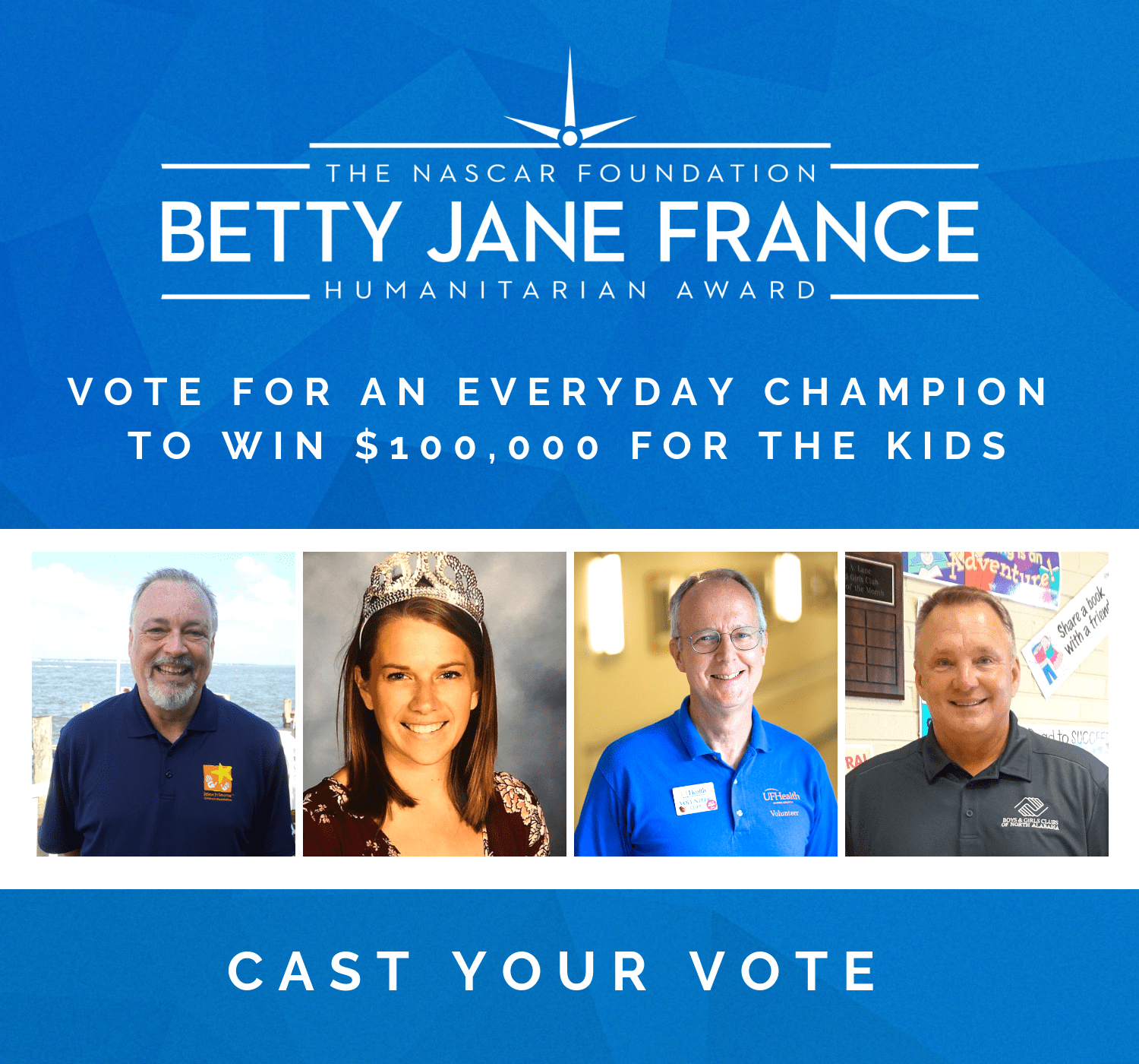 Vote For An Everyday Champion To Win 100000 For The Kids 1