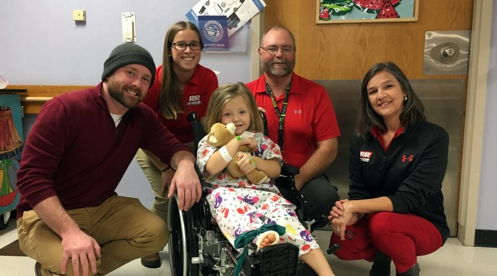 Richmond Raceway Employees Deliver Speedy Bears To Children At Vcu Health Courtesy Of Richmond Raceway