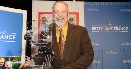 Carl Dakes Wins 8th Annual Betty Jane France Humanitarian Award