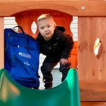 Colin With Ready Bag On His Playset For Web
