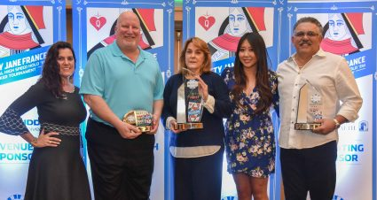 Betty Jane France Memorial High Speed Hold 'Em Poker Tournament raises $150,000 for Speediatrics Children's Fund