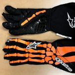 Orange Alpine Gloves