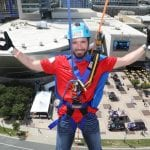CHARLOTTE, NC September 25, 2018 - NASCAR Foundation Over the Edge event at the Emabassy Suites in Charlotte, NC.