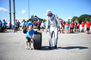 BROOKLYN, MICHIGAN - AUGUST 09: The NASCAR Foundation - Photos of our Speediatrics Fun Day Festival during practice for the Monster Energy NASCAR Cup Series Consumers Energy 400 at Michigan International Speedway on August 09, 2019 in Brooklyn, Michigan. (Photo by Stacy Revere/Getty Images) | Getty Images