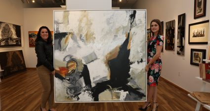 Art of Speed Exhibition at Gallery500 Benefits The NASCAR Foundation With Donation