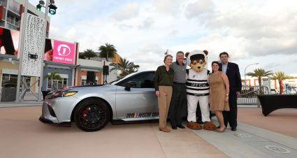 The NASCAR Foundation Debuts Fundraising Initiative With 2020 Toyota Camry Giveaway