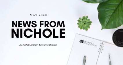 May Edition: News from Nichole