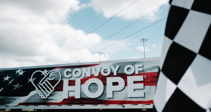 Convoy of Hope Organizes Relief Effort at Martinsville Speedway