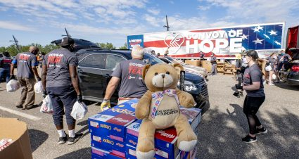 Talladega Superspeedway Hosts Third Convoy of Hope Donation Event with The NASCAR Foundation, Joey Logano Foundation and Elevation Outreach
