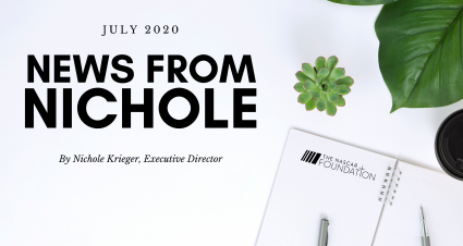 July Edition: News from Nichole