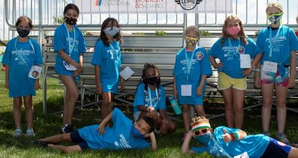 Step It Up: NASCAR Drivers Join Kids in Step Challenge