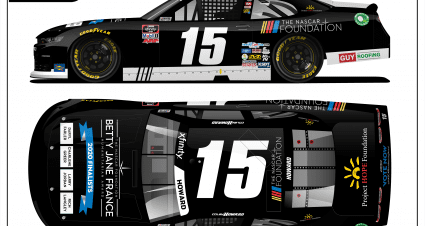 Colby Howard Teams Up with The NASCAR Foundation to honor Betty Jane France Humanitarian Award Finalists