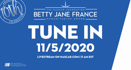 Tune In LIVE for the Betty Jane France Humanitarian Award Winner Announcement