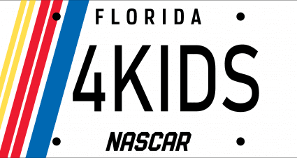 The NASCAR Foundation Aims to Rev Up Specialty License Plate Sales with New NASCAR Design