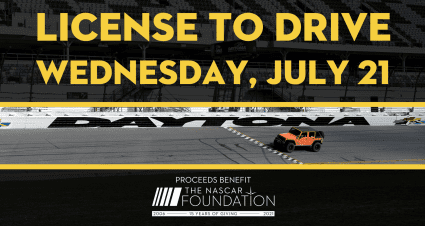 Fans to Wheel Own Vehicles Around Daytona International Speedway as NASCAR Foundation Hosts First-Ever License to Drive ...
